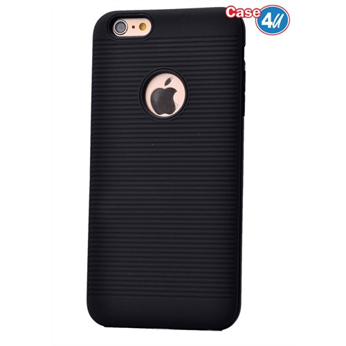 Case 4U Apple İphone 6S Plus You Koruyucu Kapak Siyah