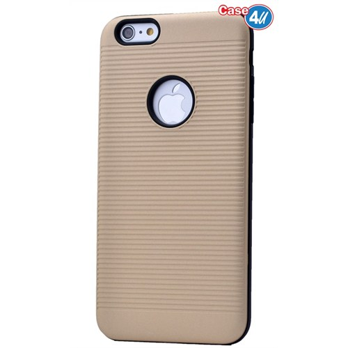 Case 4U Apple İphone 6S Plus You Koruyucu Kapak Altın