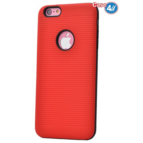Case 4U Apple İphone 6 Plus You Koruyucu Kapak Kırmızı