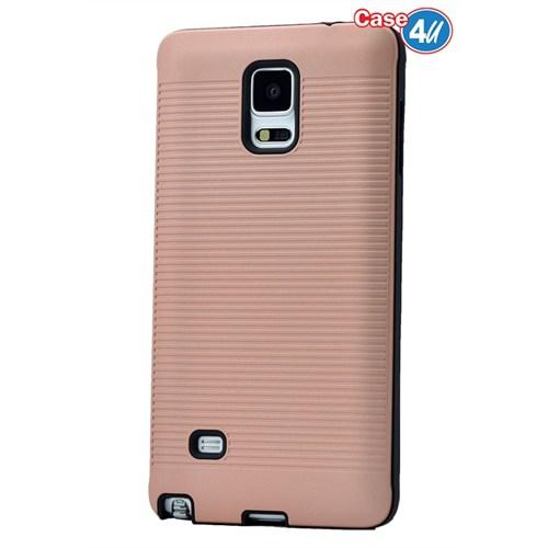 Case 4U Samsung Galaxy Note 4 You Korumalı Kapak Rose Gold