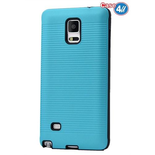 Case 4U Samsung Galaxy Note 4 You Korumalı Kapak Mavi