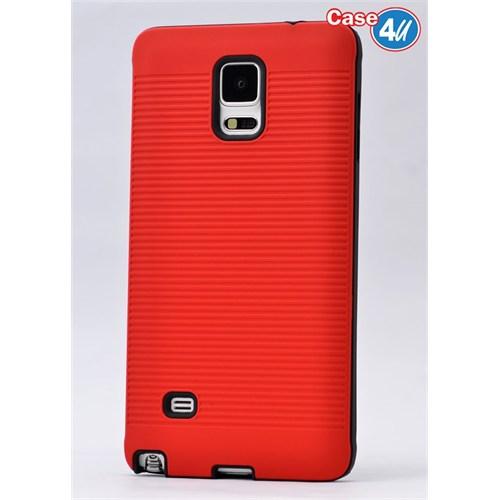 Case 4U Samsung Galaxy Note 4 You Korumalı Kapak Kırmızı