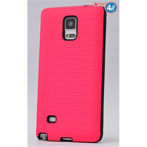 Case 4U Samsung Galaxy Note 4 You Korumalı Kapak Fuşya