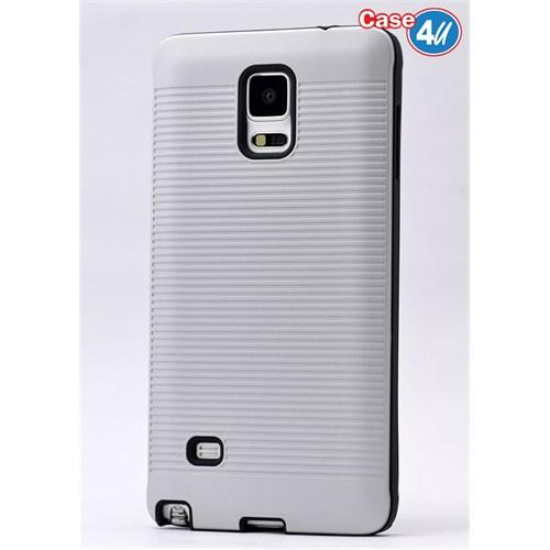 Case 4U Samsung Galaxy Note 4 You Korumalı Kapak Beyaz