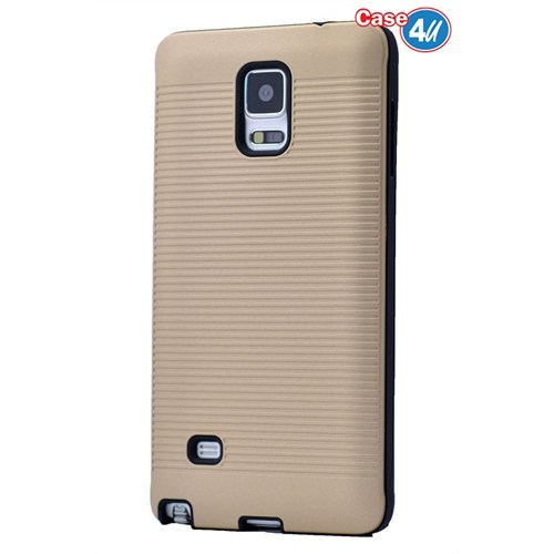 Case 4U Samsung Galaxy Note 4 You Korumalı Kapak Altın