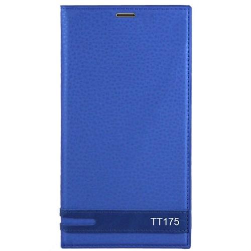 Kılıfshop Türk Telekom Tt175 Kılıf Magnum Mavi + Kırılmaz Cam Ekran Koruyucu
