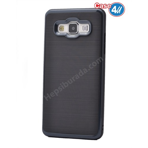 Case 4U Samsung Galaxy A8 Infinity Koruyucu Kapak Siyah