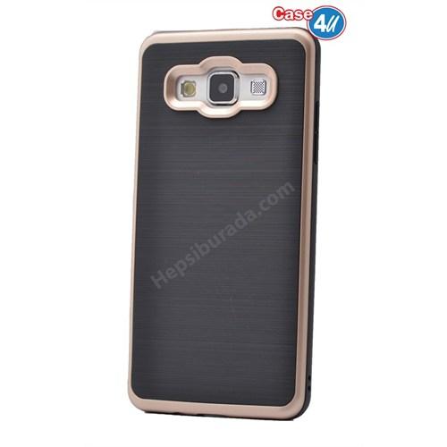 Case 4U Samsung Galaxy E5 Infinity Koruyucu Kapak Altın