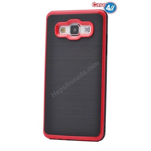 Case 4U Samsung Galaxy E5 Infinity Koruyucu Kapak Kırmızı