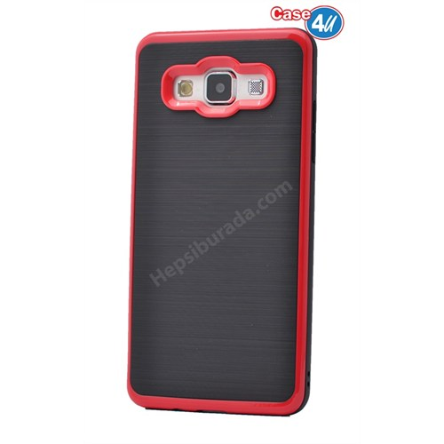 Case 4U Samsung Galaxy J7 Infinity Koruyucu Kapak Kırmızı