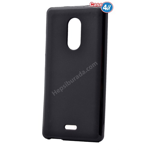 Case 4U Türk Telekom Tt175 Ultra İnce Silikon Kılıf Siyah