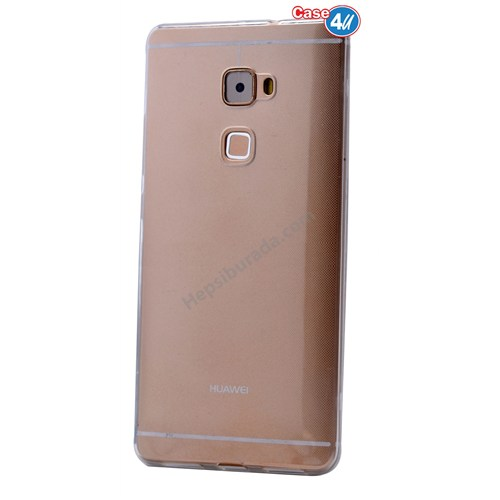 Case 4U Huawei Mate S Ultra İnce Silikon Kılıf Şeffaf