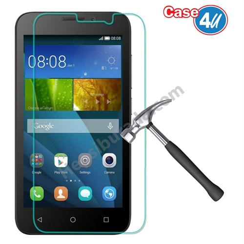 Case 4U Huawei Y5c Kırılmaz Cam Ekran Koruyucu