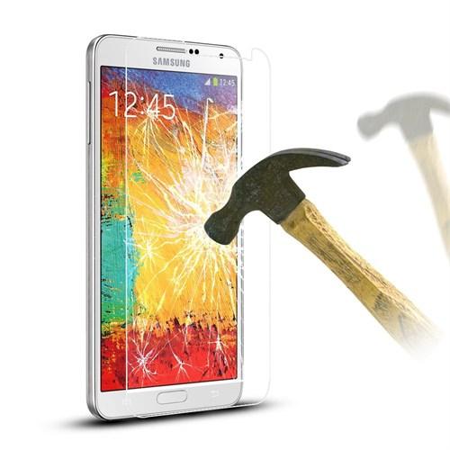 Inovaxis Samsung Note 3 Neo (2'Li Ekonomik Paket) Kırılmaya Dayanıklı Inovaxıs Temperli Ekran Cam
