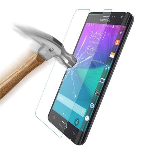 Inovaxis Samsung Note Edge (2'Li Ekonomik Paket) Kırılmaya Dayanıklı Inovaxıs Temperli Ekran Koruyucu Cam