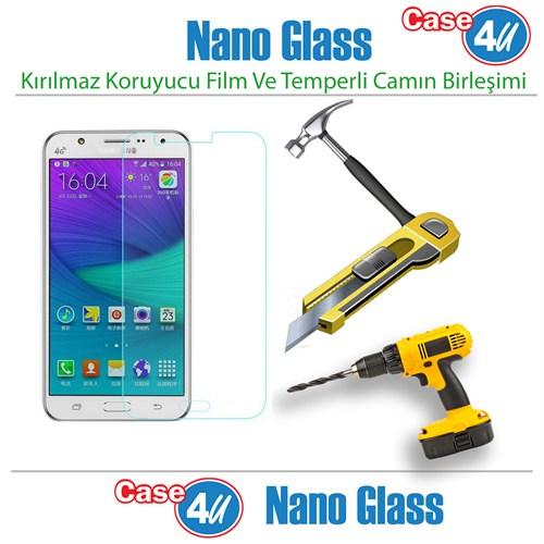 Case 4U Samsung Galaxy J5 Nano Glass Ekran Koruyucu