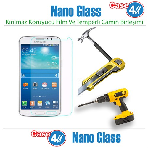 Case 4U Samsung Galaxy Note 2 Nano Glass Ekran Koruyucu