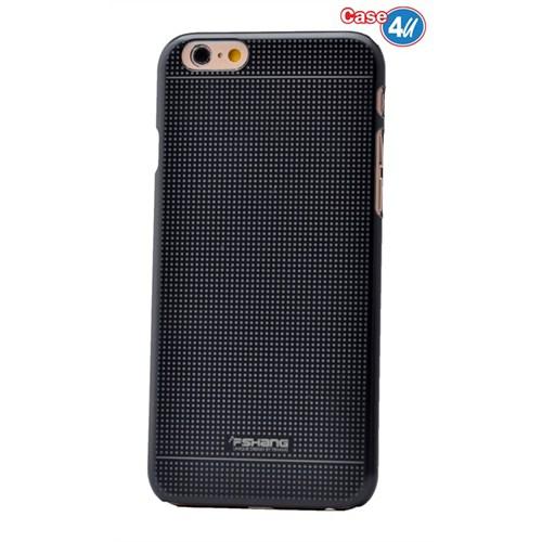 Case 4U Apple İphone 6S Plus Dot Ultra İnce Sert Kapak Siyah