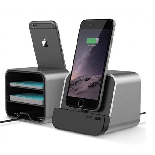 Verus İphone 6S - 6S Plus İ Depot Masaüstü Şarj Stand Dock