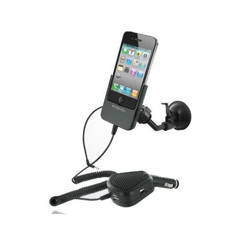 CoverZone Kidigi İphone 4 - 4S Profesyonel Araç Şarj Kiti Handsfree