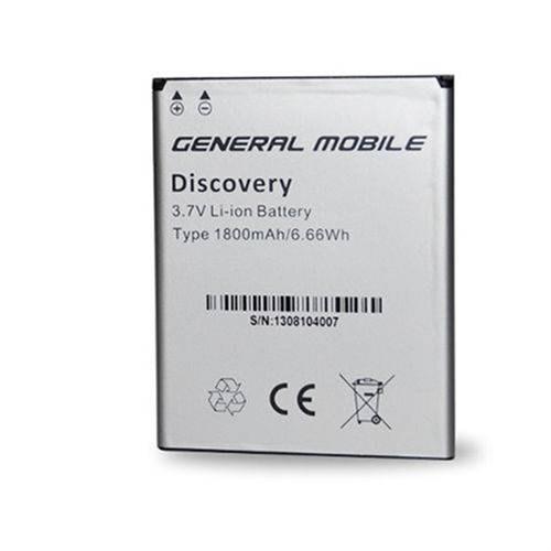 General Mobile Discovery Iı Mini Orijinal Pil 1800 Mah Kutusuz