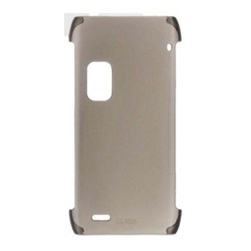 Nokia E7 Sert Plastik Kılıf CC-3005 Siyah