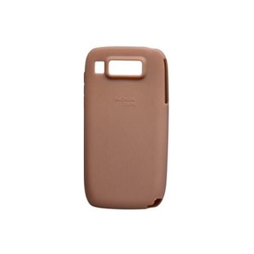 Nokia E72 Silikon Kılıf CC 1000 Kahverengi
