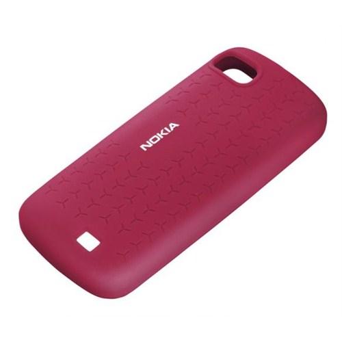 Nokia C3 Silikon Kılıf CC-1014 Mor