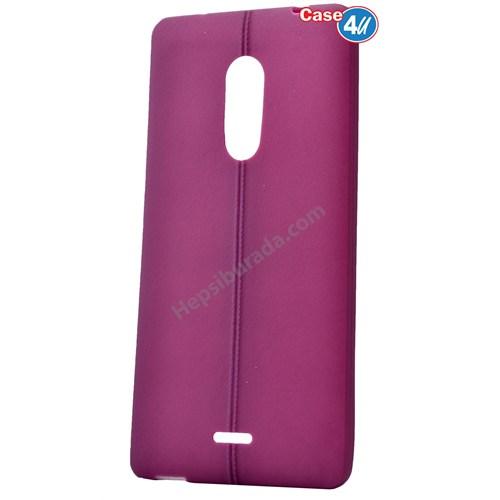 Case 4U Türk Telekom Tt175 Desenli Silikon Kılıf Mor