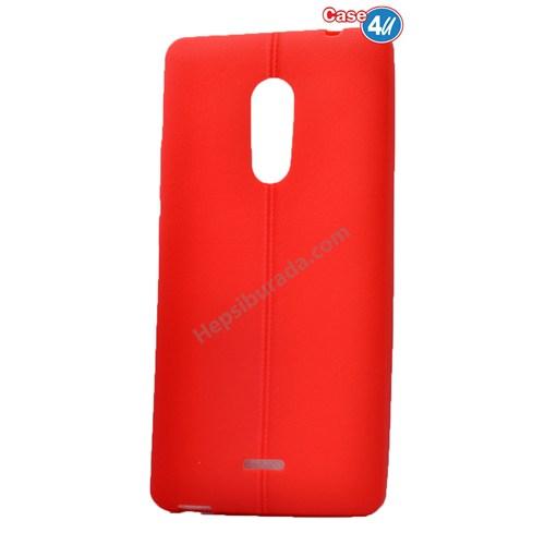 Case 4U Türk Telekom Tt175 Desenli Silikon Kılıf Kırmızı