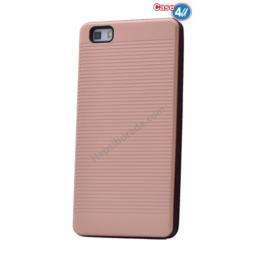 Case 4U Huawei P8 Lite You Koruyucu Kapak Rose Gold