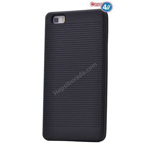 Case 4U Huawei P8 Lite You Koruyucu Kapak Siyah