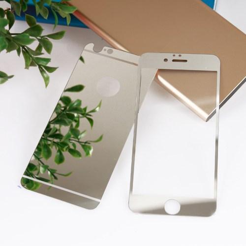 Bufalo Apple iPhone 5S Aynalı Ön Arka Cam Ekran Koruyucu