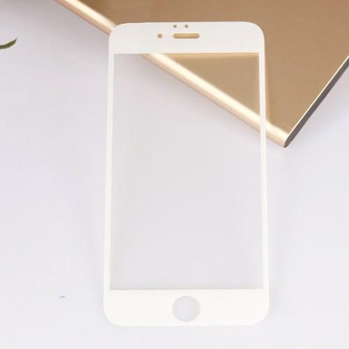 Bufalo Apple iPhone 6 Beyaz Renk Cam Ekran Koruyucu