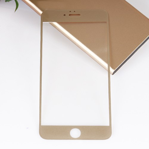 Bufalo Apple iPhone 6 Plus Gold Renk Cam Ekran Koruyucu