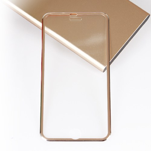 Bufalo Apple iPhone 6 Metal Kenarlı Cam Ekran Koruyucu