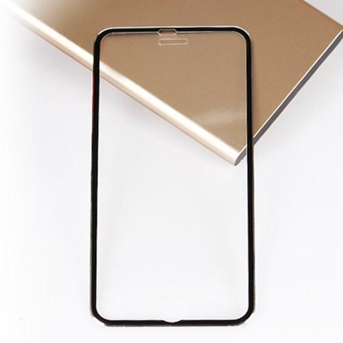Bufalo Apple iPhone 6 Metal Kenarlı Siyah Renk Cam Ekran Koruyucu