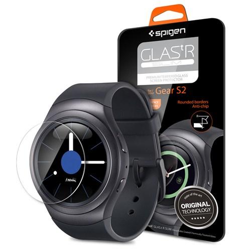 Spigen Gear S2 Screen Protector Glas.tR Slim Cam Ekran Koruyucu - SGP11800