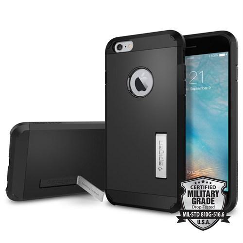 Spigen iPhone 6s Plus/6 Plus Kılıf Tough Armor Black - SGP11660