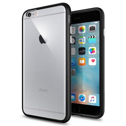 Spigen iPhone 6s Plus/6 Plus Kılıf Ultra Hybrid Black - SGP11646