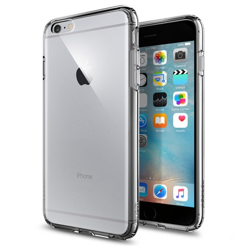 Spigen iPhone 6s Plus/6 Plus Kılıf Ultra Hybrid Space Crystal - SGP11645