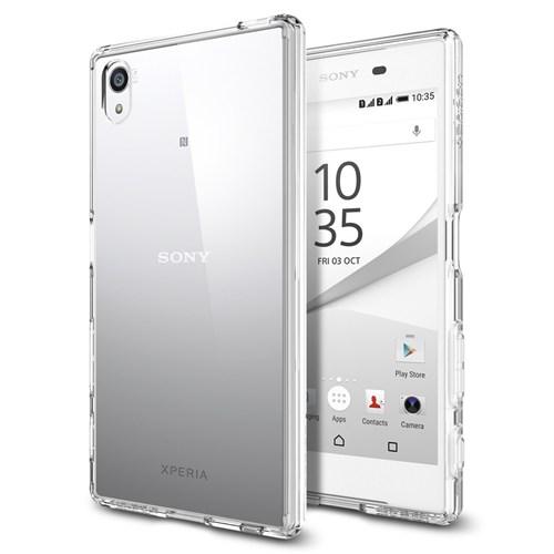 Spigen Sony Xperia Z5 Kılıf Ultra Hybrid Crystal Clear - SGP11778