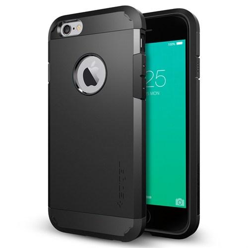 Spigen iPhone 6s/6 Kılıf Tough Armor Black - SGP11614