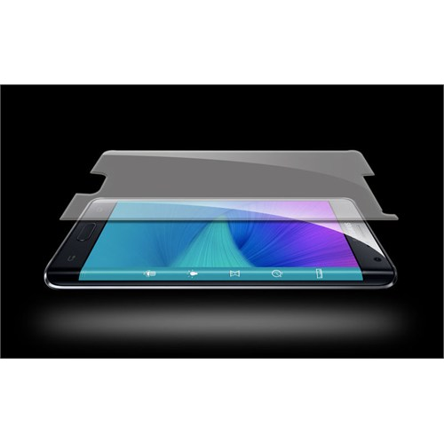 Pdcstore Samsung Galaxy Note 4 Edge Kırılmaz Cam Koruyucu Film