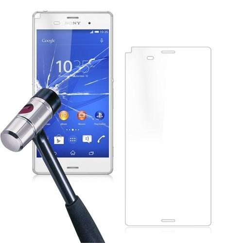 Pdcstore Sony Xperia E4 Temperli Cam Ekran Koruyucu Kırılmaz Film