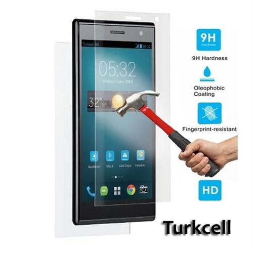 Pdcstore Turkcell T50 Kırılmaz Cam Koruyucu Film