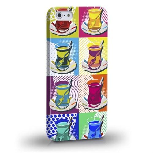 Biggdesign Çay Bardağı Apple iPhone 5/5S Kapak