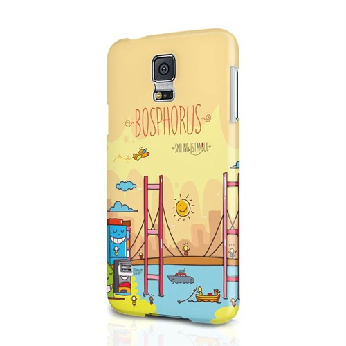 Biggdesign Smiling İstanbul Boğaz Samsung Galaxy S5 Kapak