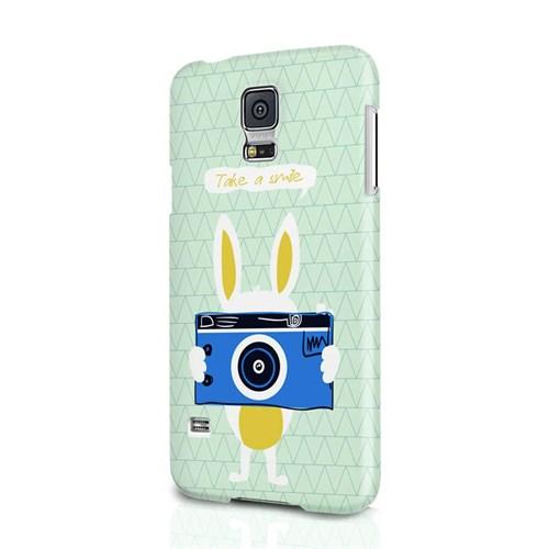 Biggdesign Take A Smile Samsung Galaxy S5 Kapak