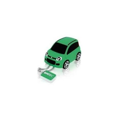 Emtec F103 Fiat Panda Yeşil 8Gb Usb 2.0